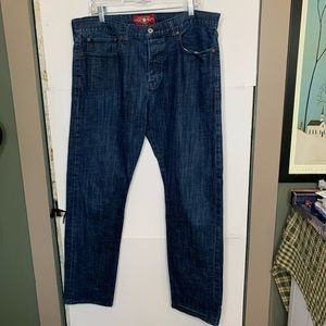 Lucky Brand Heritage Slim Button Fly Jean 38X32